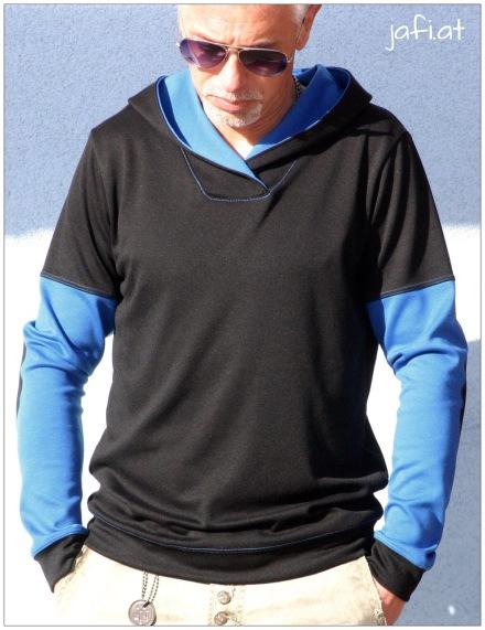 Mr. Klassik Schwarz-Blau 1