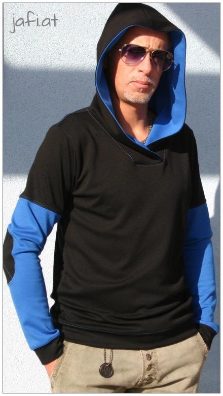 Mr. Klassik Schwarz-Blau 3